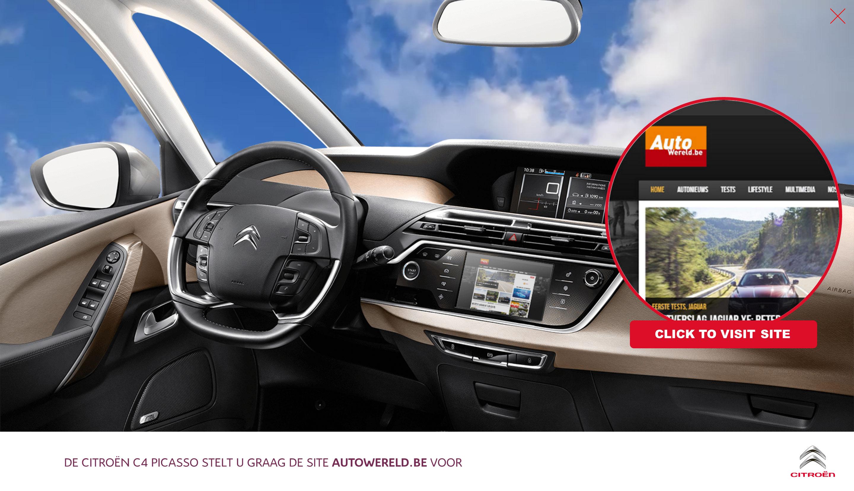 Citroen advertising - AutoWereld