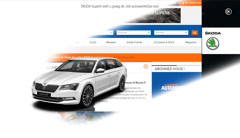 Skoda advertising - Le Moniteur Automobile